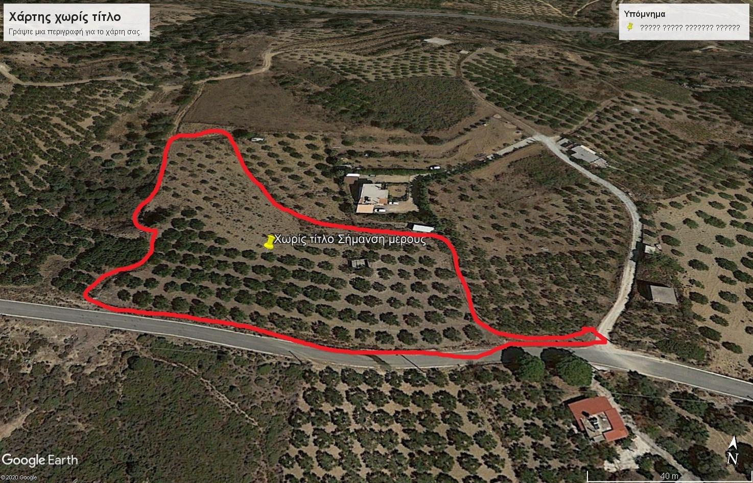 PLOT 4.300 sqm AT AGIA PELAGIA (ACHLADA) OF HERAKLION CRETE
